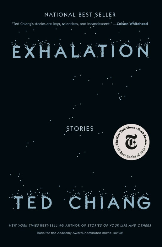 "<a href=""https://franklin.library.upenn.edu/catalog/FRANKLIN_9977540048703681"">Exhalation by Ted Chiang</a>"